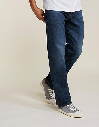 Bootcut Mid Wash Jeans