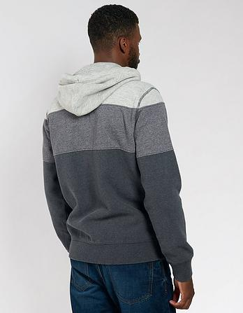 Cut and Sew Zip Thru Hoody
