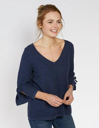 Organic Cotton Lila Sweater
