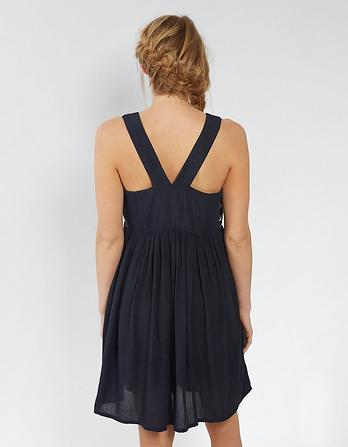Tidal Embroidered Dress