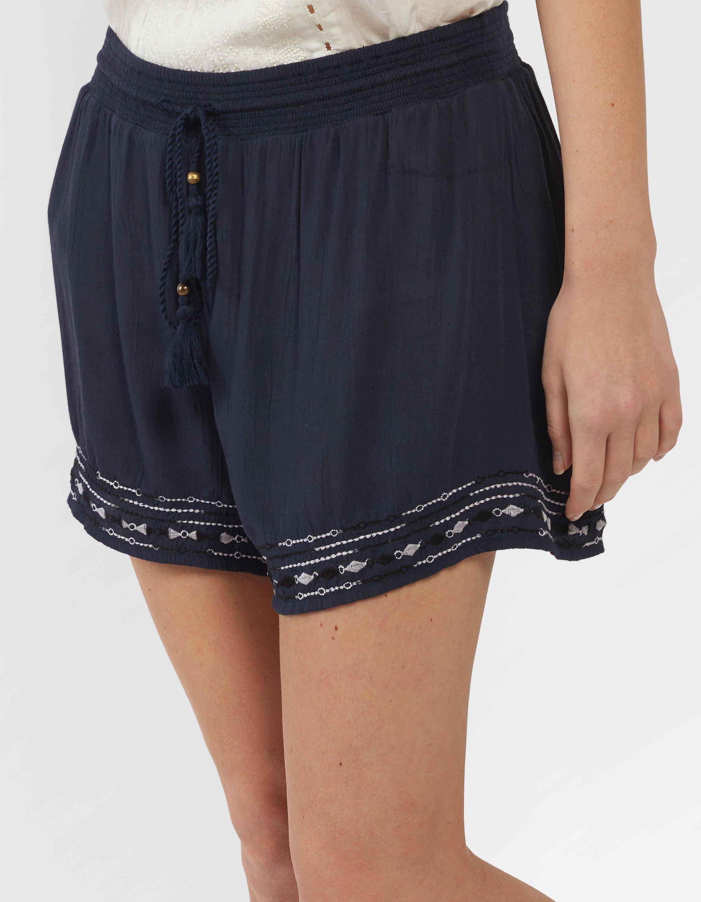 Tidal Embroidered Shorts