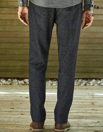 Folk Wool Pants