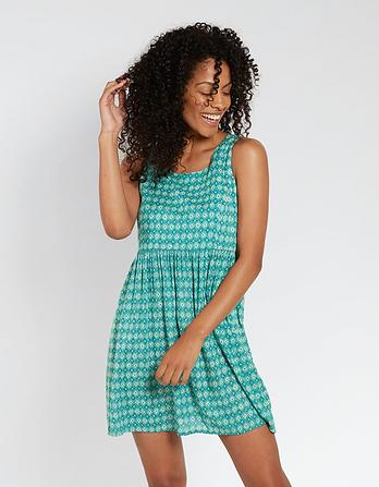 Tidal Daisy Diamond Dress