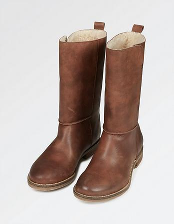 Finsbury Leather Mid Boot