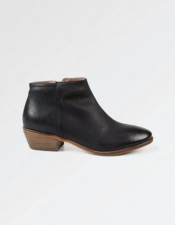 Lytham Leather Ankle Boots