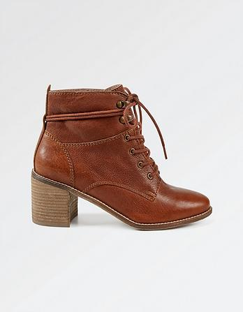Carrie Block Heel Ankle Boots