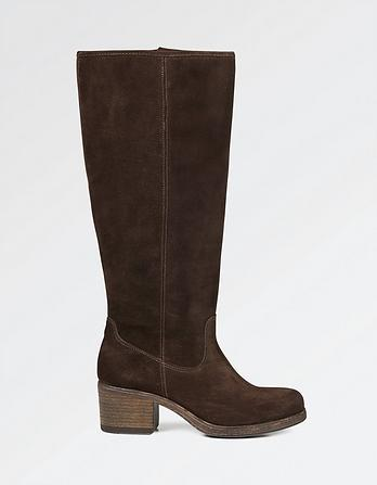 Whitby Suede Knee High Boot