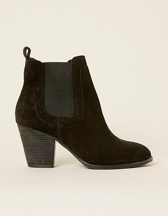 Hazel Chelsea Heel Boots