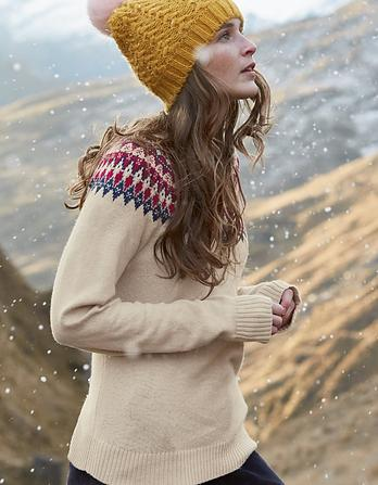 Islay Pattern Sweater