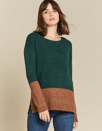 Imogen Colour Block Sweater