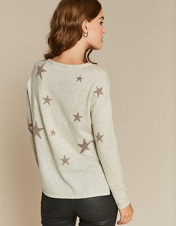 Lurex Star Sweater