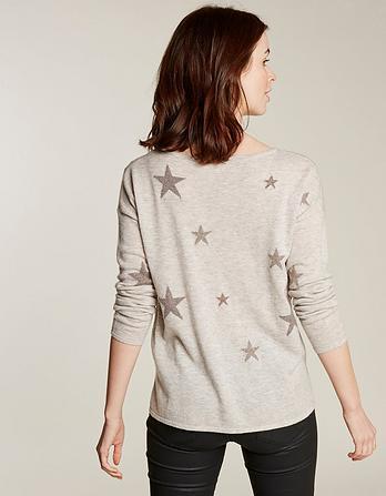 Sparkle Star Sweater