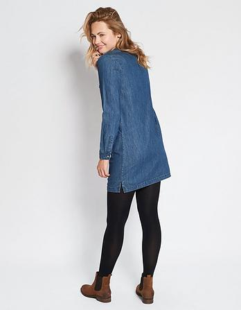 Rachel Denim Shift Dress