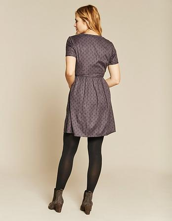 Gilly Diamond Dot Dress