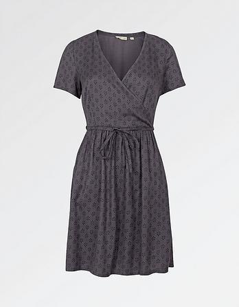 Gilly Diamond Dot Dress