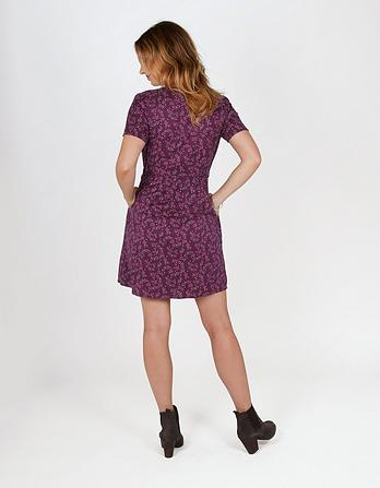 Gilly Artisan Floral Dress