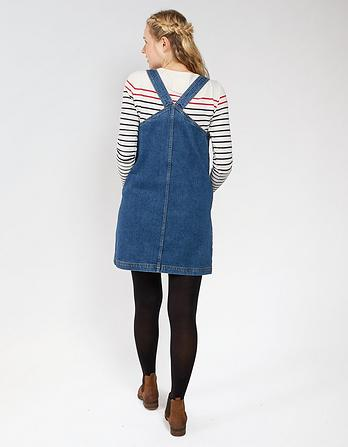 Susan Denim Pinafore Dress