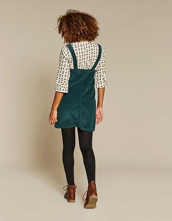 Dedee Cord Pinafore Dress