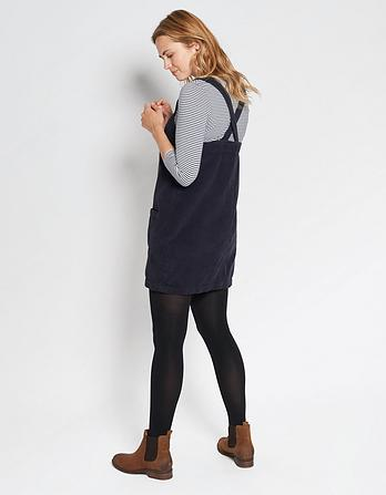Dedee Cord Pinafore Dress