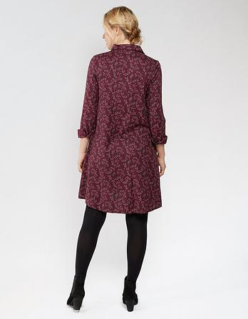 Juliet Artisan Floral Shirt Dress