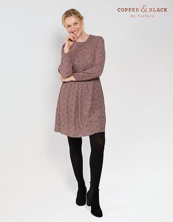 Hazel Poetic Paisley Dress