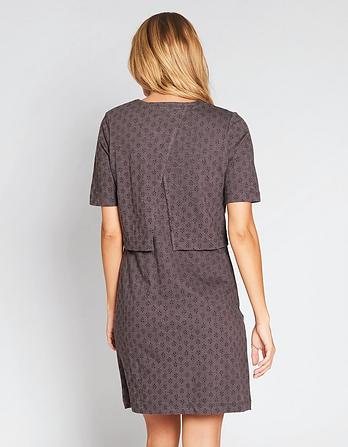 Joni Diamond Dot Layer Dress