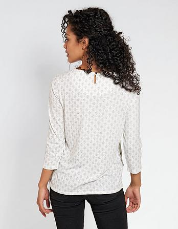 Tulip Diamond Dot Top