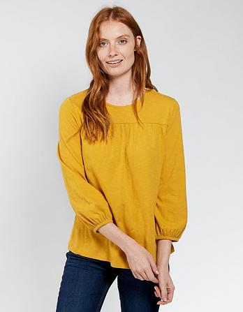 Lucinda Balloon Sleeve Blouse