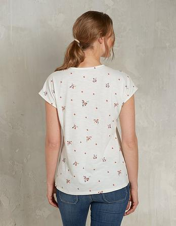 Embroidered Blossom T-Shirt