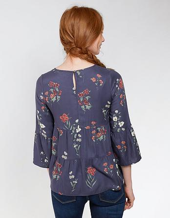 Lottie Botanical Floral Blouse