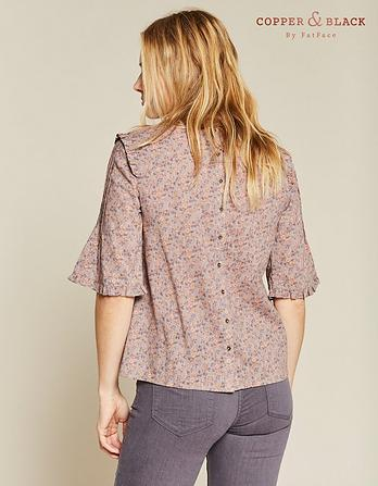 Hilary Poetic Floral Blouse