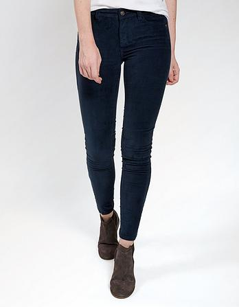 Five Pocket Cord Jeggings