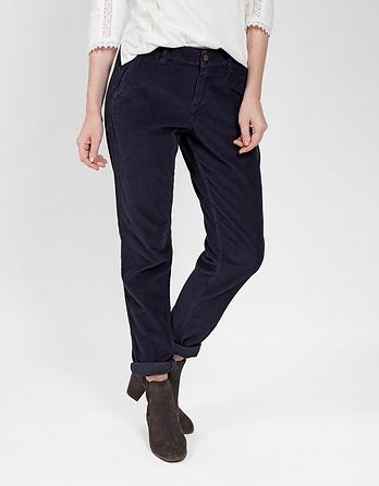 Cord Tapered Pants