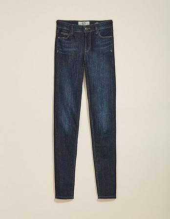 Dark Blue Super Skinny Jeans