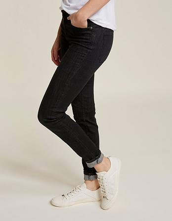 Washed Black Super Skinny Jeans