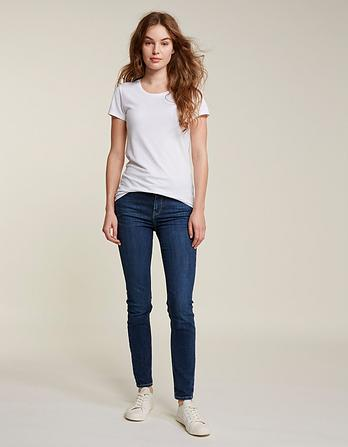 Mid Blue Super Skinny Jeans