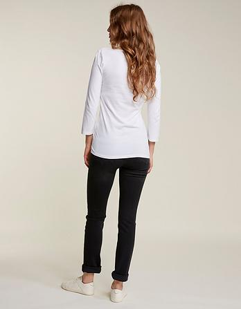 Overdye Black Slim Straight Jeans