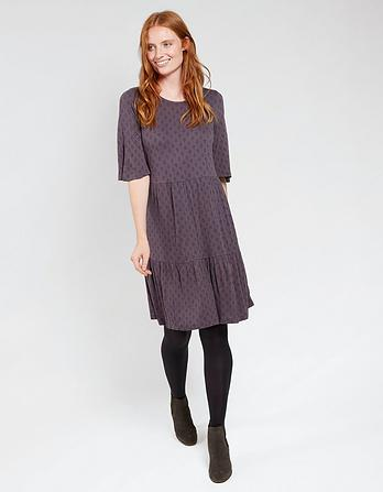Martine Diamond Dot Dress