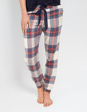 Tartan Cuffed Lounge Pants