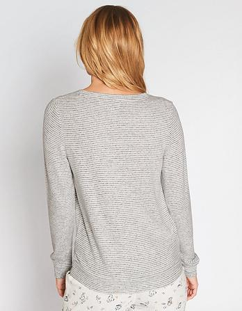 Weston Soft Stripe Sweatshirt