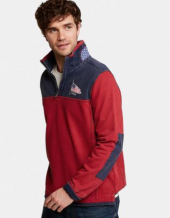 Airlie USA Yoke Sweatshirt
