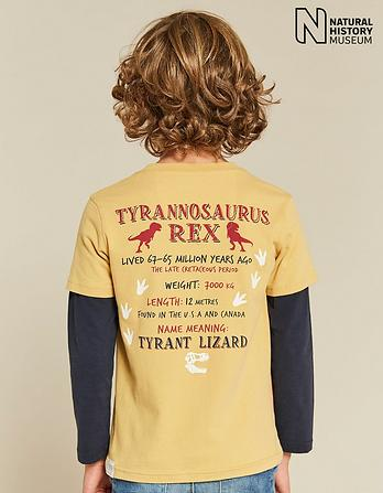 Natural History Museum Dinosaur 2 in 1 T-Shirt