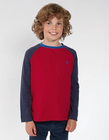 Ringer Raglan T-Shirt