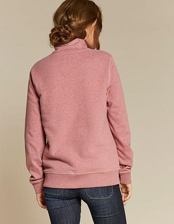 Kenmare Borg Collar Funnel Neck Sweatshirt