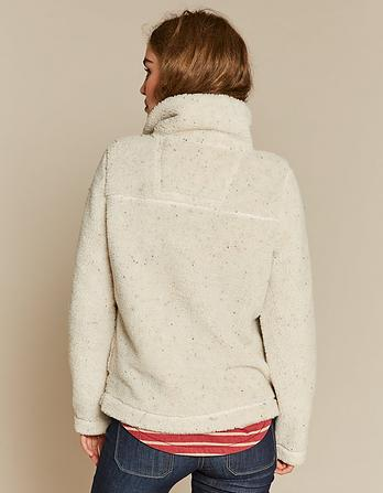 Shelby Sherpa Half Zip Sweatshirt