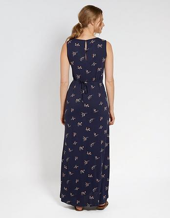 Grace Blossom Ditsy Wrap Maxi Dress