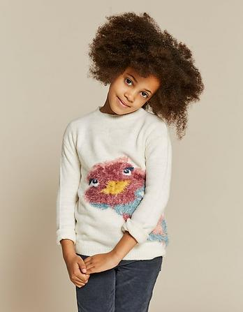 Elsie Emu Crew Neck Sweater