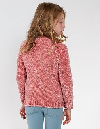 Chloe Chenille Crew Neck Sweater