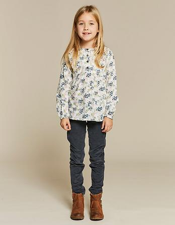 Lucy Falling Floral Blouse