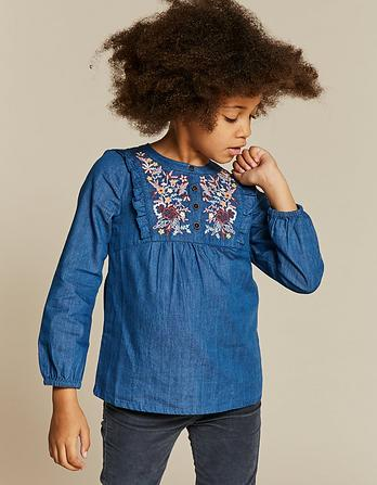 Lucy Embroidered Blouse